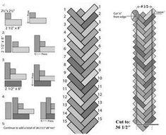 Resultado de imagen de quilting braid pattern