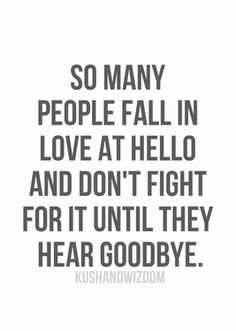 Falling in Love at Hello... | #quotes #love #relationships