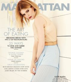 Manhattan Magazine May 2014 | Kate Mara photographed by John Russo