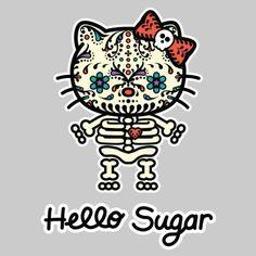 Hello Kitty dia de los muertos