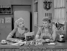 Lucy and Ethel Friend Quotes | Ethel & Lucy Save Money – Just Like Mom | Extreme Couponing Tips ...
