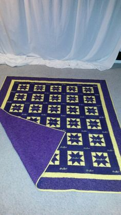 Crown royal quilt. ..