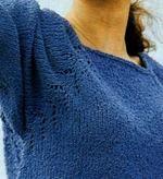 Варианты оформления реглана на изделии, выполняющегося от горловины: понятным языком