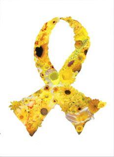 Yellow ribbon: Bladder cancer awareness. I am a survivor 2008.