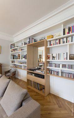 Decoration Inspiration, Interior Design Inspiration, Bibliotheque Design, Design Salon, Library Room, Bookcase Shelves, Little Houses, Design Projects, Interior And Exterior