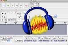 تحميل برنامج فصل الصوت عن الموسيقى Download Audacity | معهد ايتك عرب