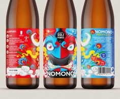 NOMONO Freestyle Polish IPA Label design