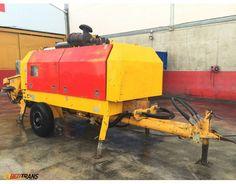 Stationary concrete pump PUTZMEISTER BSA 2109 H