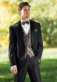 ff2e193be786 2017 New Camouflage Tuxedos Unique One Button Camo Mens Wedding Suits  Notched Lapel Groom Wear Prom Suits For Men(Jacket Pant Vest Bowtie)s4