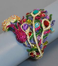 Rhinestone Peacock Bracelet! Found this at TJmaxx a couple weeks ago and LOVE IT!!