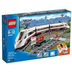 LEGO City Trains High-speed Passenger Train $102 - http://www.gadgetar.com/lego-city-trains-high-speed-passenger-train/