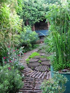 Cool wooden paths/patio II