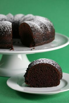 """This cake is delicious. Sub strong coffee for water and omit the cinnamon as a variation. Quick, easy, moist and delicious. Definitely going to become my """"I want chocolate cake now"""" cake."""