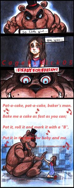 Something I would have done with freddy. :3