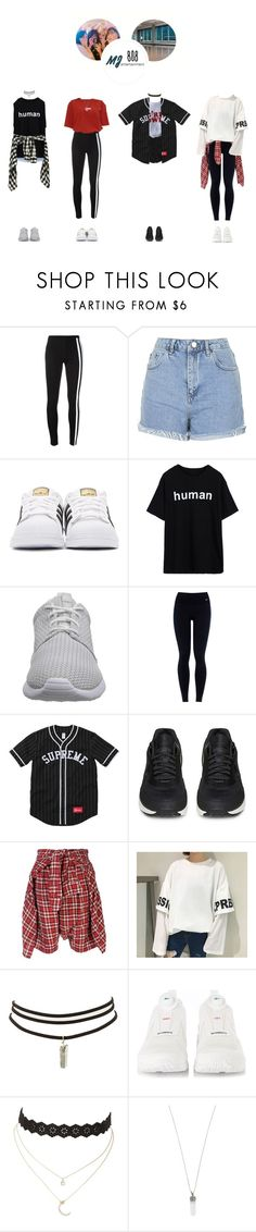 """audition for mj ent. –– 여덟시"" by eight-o-eight-official ❤ liked on Polyvore featuring Y-3, Topshop, adidas Originals, NIKE, adidas, R13, Charlotte Russe, Marc Jacobs, Roberto Coin and mjrecruitment"