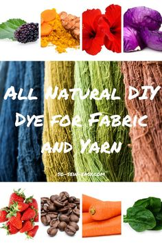 Making your own all-natural DIY dye is not only thrifty and environmentally smart, it's a creative and rewarding process.
