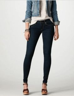 50 Jeans Under $50 : Lucky Magazine#/slide=4 love these in black and white American Eagle $44.95