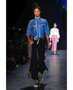 """67 Likes, 1 Comments - NOMAD MGMT (@nomadmgmt) on Instagram: """"@leaf_zhang for @viviennetam S/S 2017 #LeafZhang #VivienneTam #SS17 #NYFW #Runway #NomadMgmt…"""""""