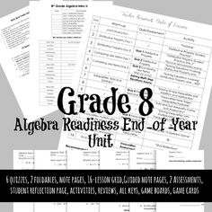 Algebra Games, 8th Grade Math, End Of Year, Day Plan, Get Excited, Word Problems, Cool Cards, Card Games, Classroom