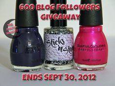 ThePolishHoochie 600 follower giveaway!