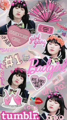 "Girl Suga ""Min YoonJi"" - Can someone please make this a phone case? Bts Suga, Min Yoongi Bts, Bts Bangtan Boy, Suga Wallpaper, Min Yoongi Wallpaper, Foto Bts, Jikook, Bts Memes, Min Yoonji"