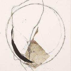 Powerful Simplification – Expressive Abstraction by French Artist Kitty Sabatier Abstract Drawings, Abstract Watercolor, Art Drawings, Creation Art, Circle Art, Ouvrages D'art, Contemporary Abstract Art, Modern Art, Calligraphy Art