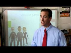 Blended learning with xbox 360 Kinect: ▶ XBOX Kinect in the classroom