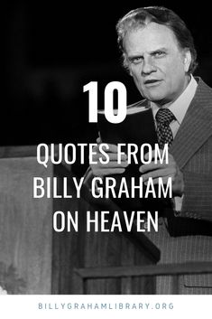 Billy Graham spoke on heaven many times throughout his career. Here are 10 quotes from Billy Graham on heaven. Billy Graham Books, Billy Graham Quotes, Billy Graham Library, My Bible, Bible Verses, Spiritual Quotes, Positive Quotes, Sweet Quotes