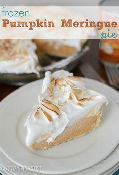 Recipe: Thanksgiving Recipes / Frozen Pumpkin Meringue Pie  Recipes - tableFEAST