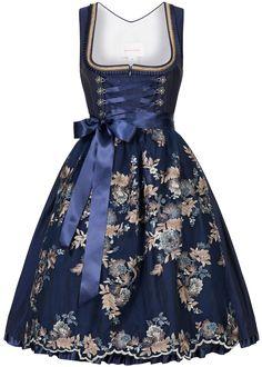 Designer Clothes, Shoes & Bags for Women Define Fashion, Timeless Fashion, Skyrim Clothes, Cute Dresses, Vintage Dresses, German Costume, German Outfit, Oktoberfest Outfit, Dirndl Dress