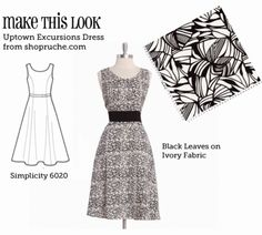 Make This Look website has tons of patterns to make the dresses seen on clothing sites such as modcloth