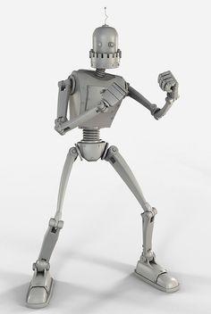 Cartoony mechanical robot - $30