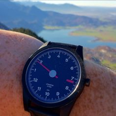 Hiking in style #RL72 #watch GuardsRed-Design.com