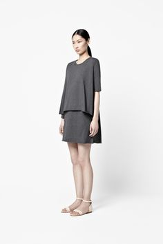 Double layer dress #COS #dress