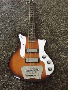 Ibanez Jet King Electric Bass Guitar Vintage Style Jtk200 Mahogany Artcore Rare #Ibanez
