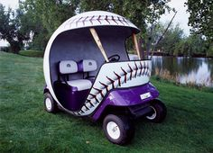 golf carts | Cart' Blanche: Custom Golf Carts Take Game, Promotions to New Level
