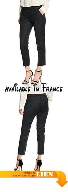 B01LEZ9UVO : rich&royal 64q957 Pantalon Femme Gris (Phantom 876) W28.