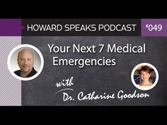 Your Next 7 Medical Emergencies with Dr. Catharine Goodson. Howard Speaks Podcast 49. http://youtu.be/rHKTJQOXeEk. On average in a 10 year span, 7 medical emergencies occur in a dental office. Dr. Catharine Goodson shares the story that started her on the pathway to become an expert in medical emergencies in dentistry, followed by the steps you can take to have your office ready for your next incident. What are the 7 most common medical emergencies in dentistry?