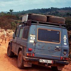 All over the world in the G-Wagen – Gunther Holtorf's 26 year road trip.  #Mercedes #Benz #GClass #GWagen #Instacar #carsofinstagram #germancars #luxury