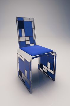chaise bonheur fj bleu sofoz by frederic julien