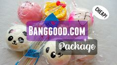 First Squishy Review Package!! Banggood.com   mishcrafts
