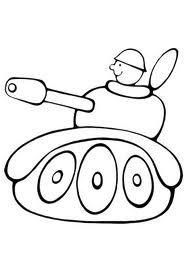 раскраска танк для самых маленьких - Поиск в Google