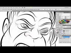 Ultimate Inking and Coloring Tutorial for Adobe Illustrator CS5 (long version 15 min) with Clay Butler