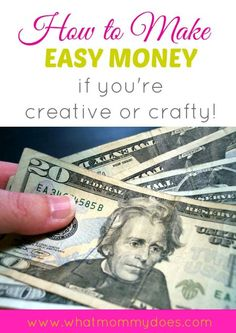 Learn how to make money if you're creative or crafty. 13 examples of ways to make extra cash online.