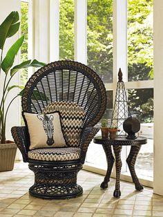 Marimba Fan Chair   Lexington Home Brands
