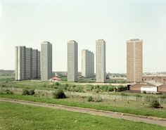 Red Row Flats, Glasgow, Scotland: The tenements of Glasgow epitomized urban squalor and modernism was a chance to scrub the dirt of Glasgow clean. With broken elevators and desolate stairways, the view over the nearby Scottish countryside is as cruel as Marin from Alcatraz. Nothing quite shows the insanity of this scheme than the green surrounding it.