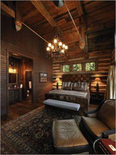 Rustic Master Bedroom Suites