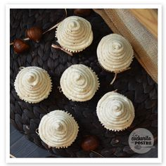 Cupcakes Montblanc