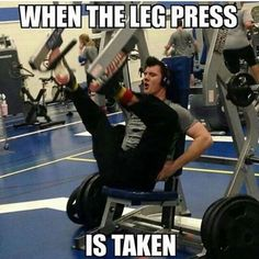 When the leg press is taken improvise gym meme on astrologym Workout List, Workout Memes, Gym Memes, Workouts, Exercises, Hitt Workout, Funny Memes, Funny Workout, Jokes