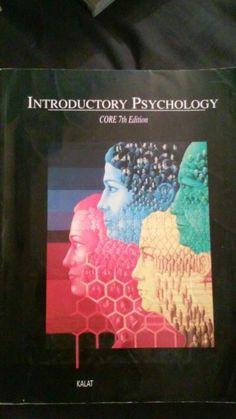 Introductory Psychology 7th Editon Kalat